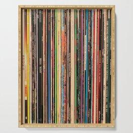 Alternative Rock Vinyl Records Serving Tray