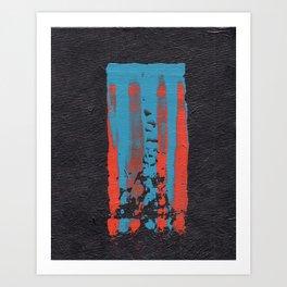 tattered remnants. Art Print