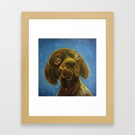 Dogface Framed Art Print