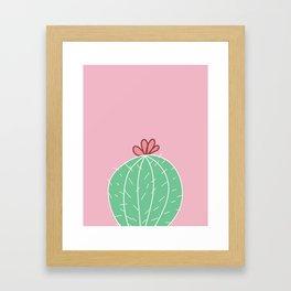 Cute Cactus (Series 2/3) Framed Art Print