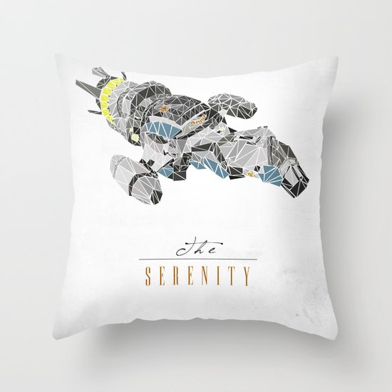The Serenity Throw Pillow