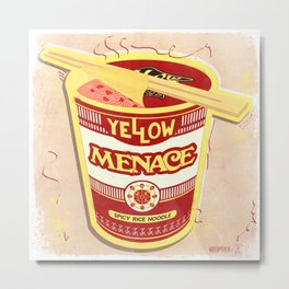 YM Noodles: Campbell's Metal Print