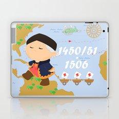 Columbus (Cristóbal Colón) Laptop & iPad Skin