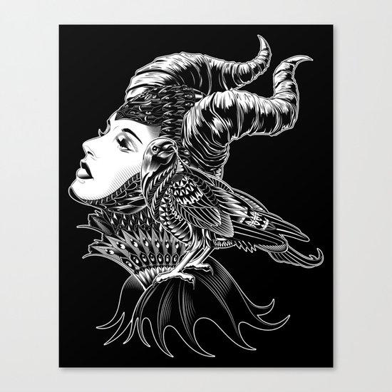 Maleficent Tribute Canvas Print