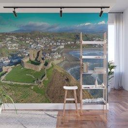 Criccieth Castle Wall Mural