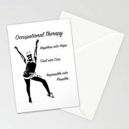 Power Pose (Occupational Therapy) Stationery Cards
