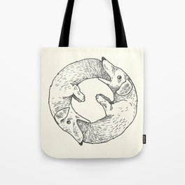 Dog Eat Dog Tote Bag