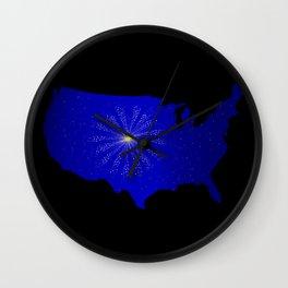 United States Celebration Wall Clock