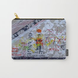 Graffiti on Concrete Carry-All Pouch