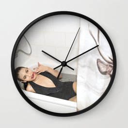 Pardon Me Wall Clock