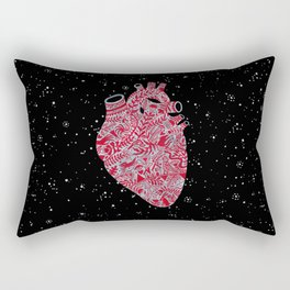 Lonely hearts Rectangular Pillow