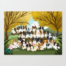 33 Paps Canvas Print