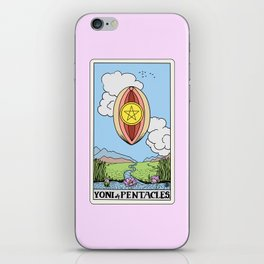 Yoni of Pentacles iPhone Skin