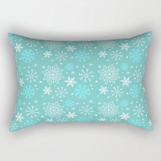 Snowflake sky Rectangular Pillow