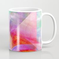 funky Mugs featuring Funky Art  by Christine baessler