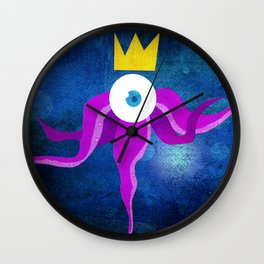 Steampunk king octopus Wall Clock