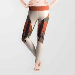Autumn in the Gorge... - Arrowhead Leggings