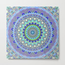 Mandala Mothers Love Metal Print