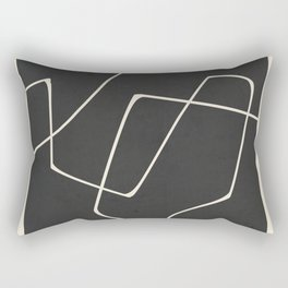 Minimal Abstract Art 25 Rectangular Pillow
