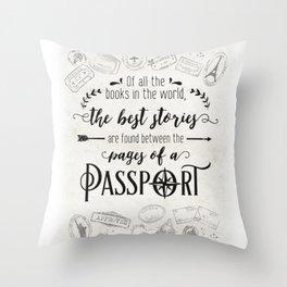 best stories Throw Pillow