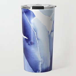 Royal Blue Palms no. 2 Travel Mug