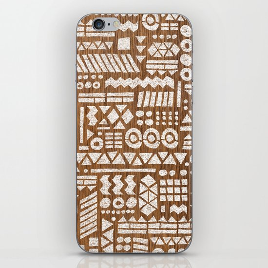 Northwoods Pattern. iPhone & iPod Skin