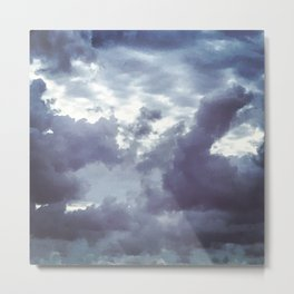 The Beauty of the Storm Metal Print