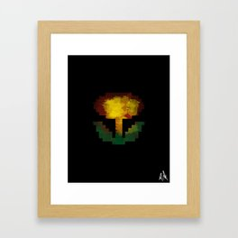 Fire power Framed Art Print