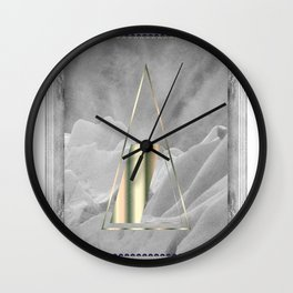 AURORA POLARIS#02 Wall Clock