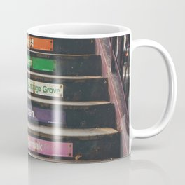 """riding the """"L"""" train in Chicago ... Coffee Mug"""
