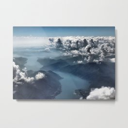 Cloud's Illusions Metal Print