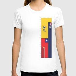 Timeline of Hongkong History T-shirt