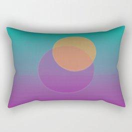 Circle Rectangular Pillow