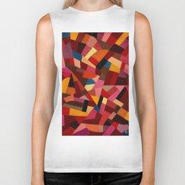 Komposition 1940 Mid Century Modern Abstract Geometric Colorful Pattern Painting Otto Freundlich Biker Tank