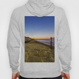 Saltburn in the evening light Hoody