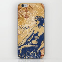 virgo | jungfrau iPhone Skin