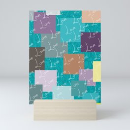 Sea Green | Love Mini Art Print