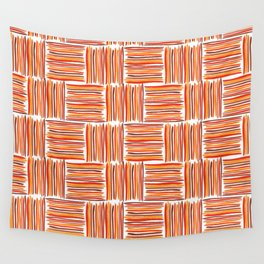 Watercolor Lines One Wall Tapestry