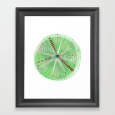 Radio Star Framed Art Print