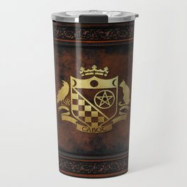 Cabot Gold Embossed Collection Travel Mug