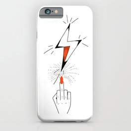 Nailing It. iPhone Case