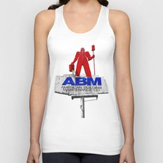 The American worker Unisex Tank Top