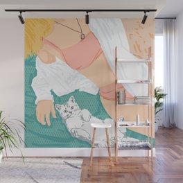 Weekend Getaway #illustration #painting Wall Mural