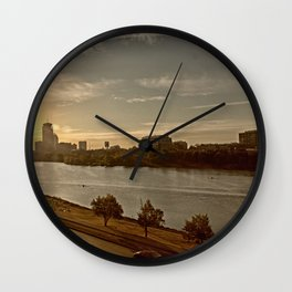 Charlie The River Wall Clock