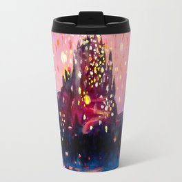 I see the lights Travel Mug