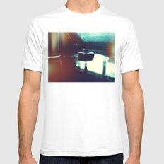 And Again For The Stars Above Mens Fitted Tee White MEDIUM