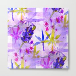 Purpleberry Kush Metal Print