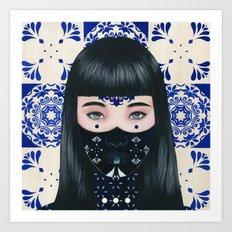 Tiles II Art Print