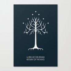 Lord Of The Rings ROTK Canvas Print