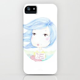 Windy iPhone Case